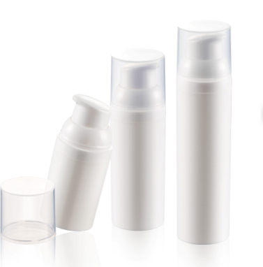 10ml 15ml 25ml 30ml 45ml 50ml Plastic PP airless cosmetic pump bottle
