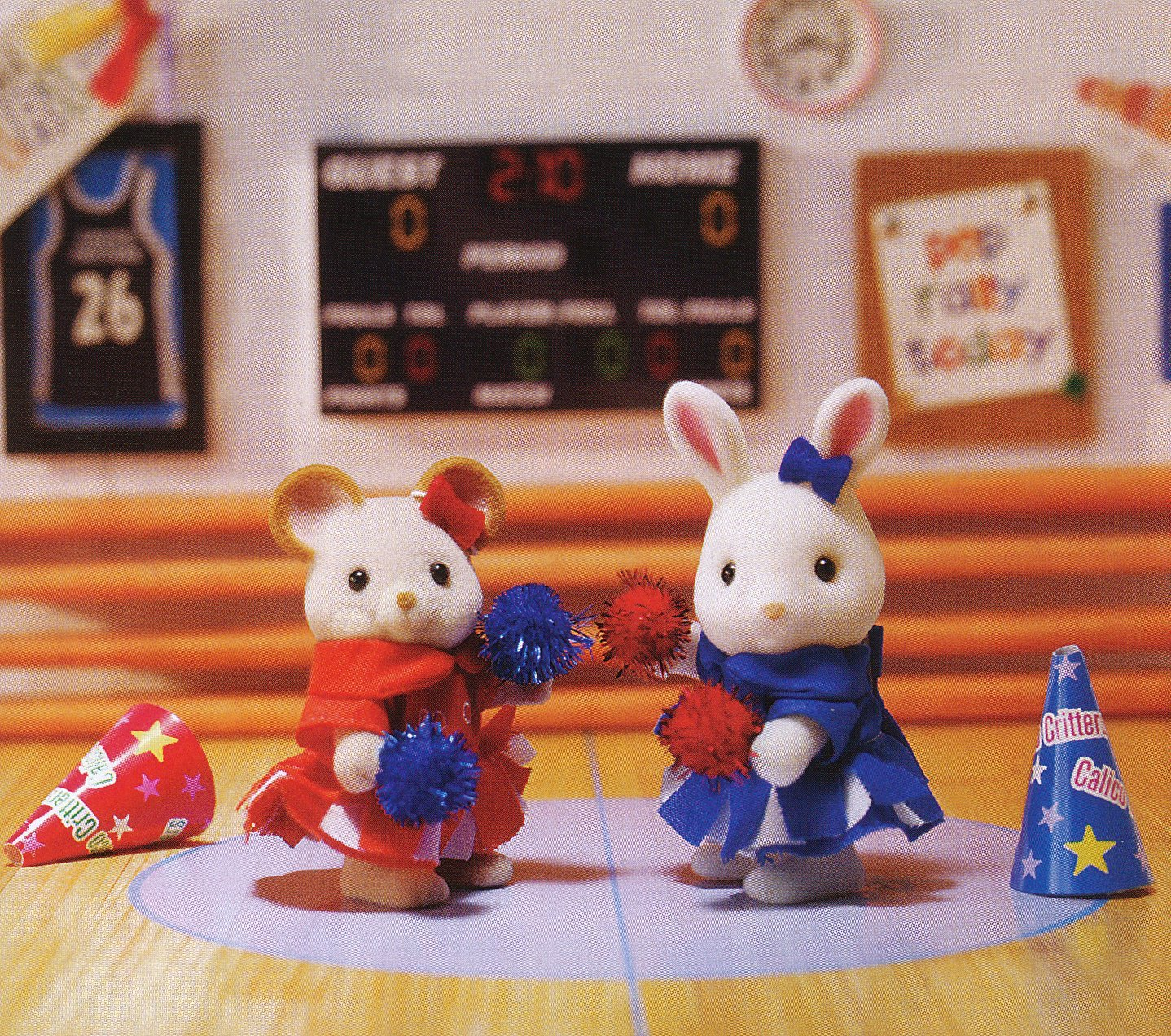 Calico Critters, A Big Cheer For Cloverleaf Corners