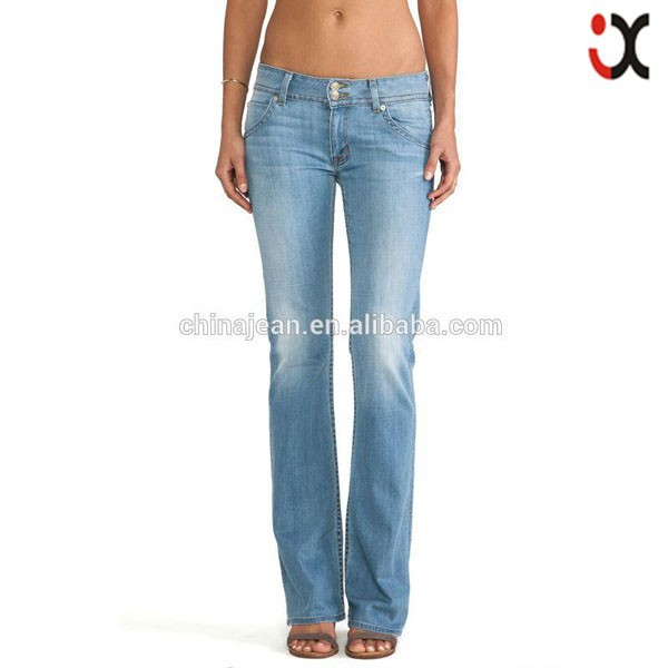 2017 women jeans new design leisure style (JX7107)