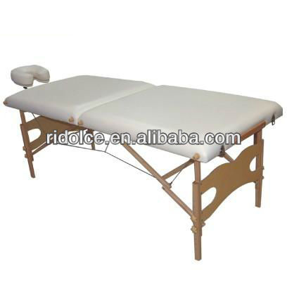 Beauty bed wholesale massage tables in wood portable salon furniture DS-H3729 (DAY SPA)