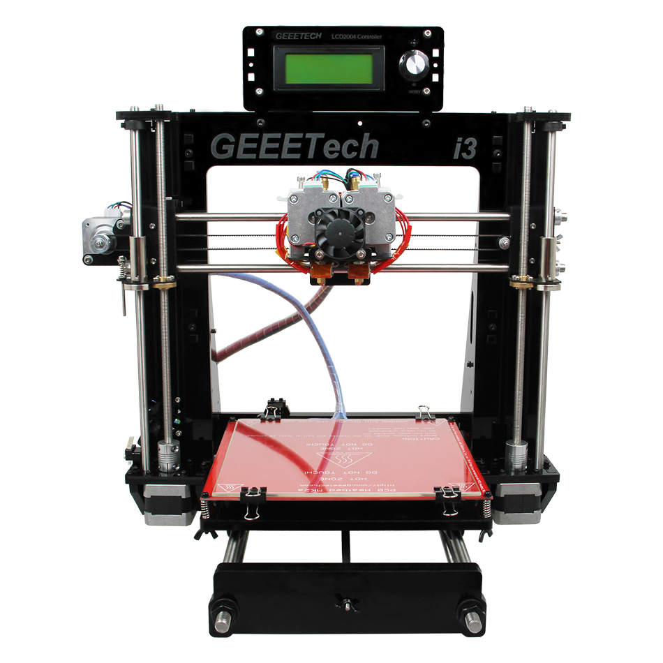 Geeetech I3 Pro C 3D Printer Dual Extruder Prusa Two Color