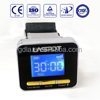 Enhance micro circulation of body home use laser watch WUHAN Chinese factory