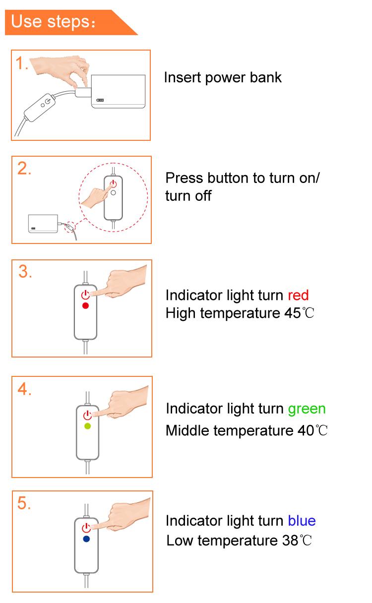 Almofada de aquecimento eletrônica confortável do ombro do pescoço do aquecedor do corpo