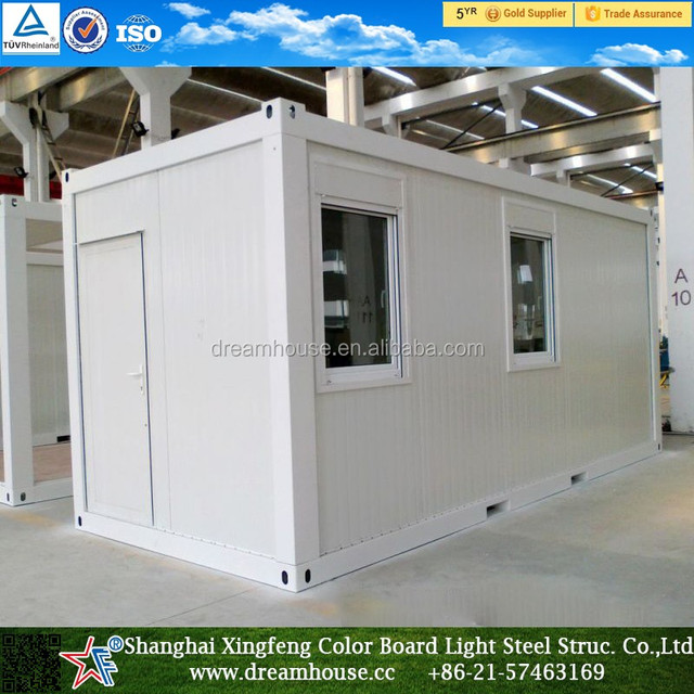 container 20ft/flat pack homes for sale/casa prefabricada barata