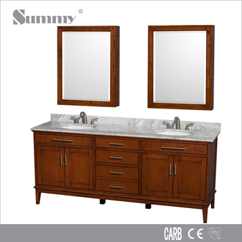 "High End Modern Bathroom Vanity 80"" high-end modern mdf pace bathroom vanity cabinets mirror with"