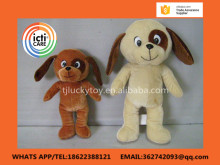 wholesale,hotsell china factory lovely animal cheap customized cute mini plush dog,standing style dog stuffed toys