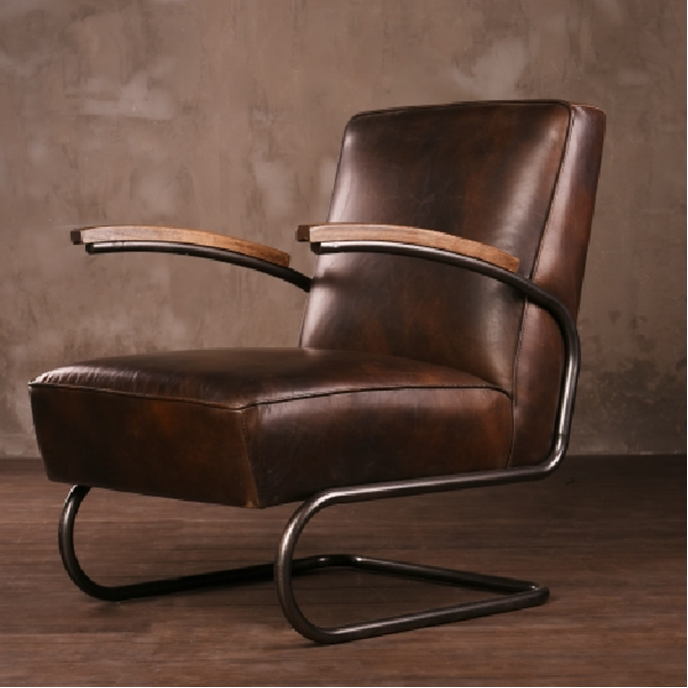 Metal Frame Antique Leather Armchair With Wood Arm Buy Antique Leather Armchair Antique Leather Armchair Antique Leather Armchair Product On Alibaba Com
