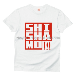 wholesale custom silk screen printed tshirts  promo tee-shirt
