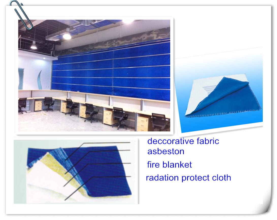 Super Inorganic Fabric Fireproof Rolling Shutterfire rated double doors