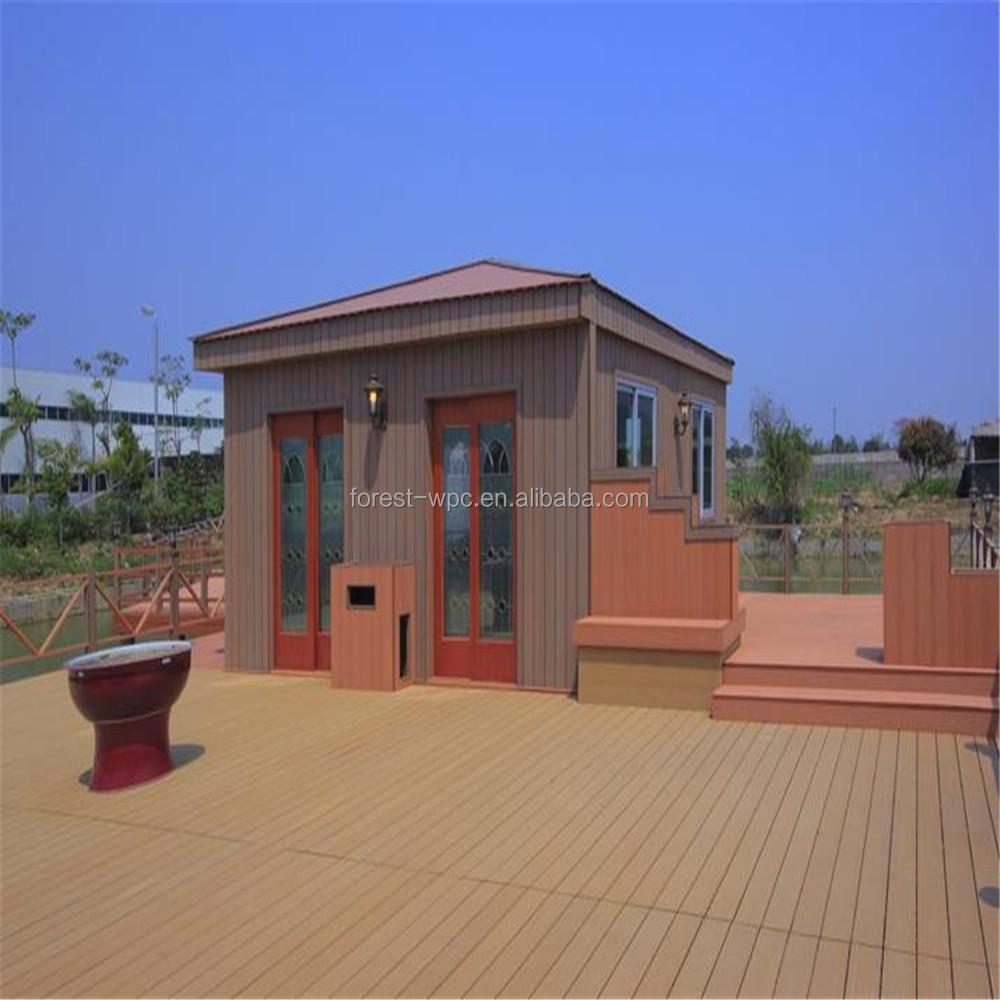Goedkope waterdichte verbinding huizen ontwerpen voor