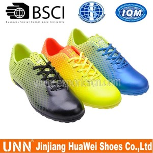 2015 indoor men sport spike football soccer shoes for men