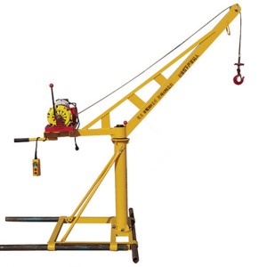 Factory Lower Price Small Mini Construction Lift Davit Crane