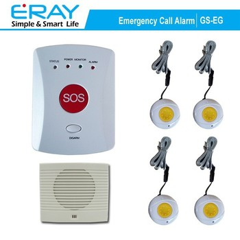 Emergency Gsm Sos Panic Alarm System For Elderly With Panic Button ...