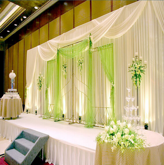 Aluminum Frame Cheap Wedding Backdrops For Sale