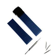 Аксессуары для часов мужской резиновый ремешок Складная Пряжка 22mm24 мм для Breitling Мстители спортивный водонепроницаемый ремешок для женщин р...(China)