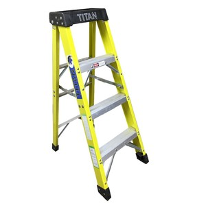 Loading heavy duty adjustable length portable ladder industrial aluminum telescopic ladder