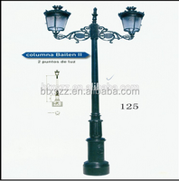 Iron Casting Ductile Lamp Post Residential