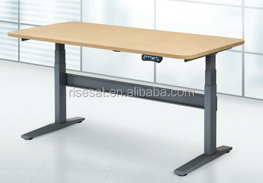 electric adjustable height ergonomic hotel tables for standing