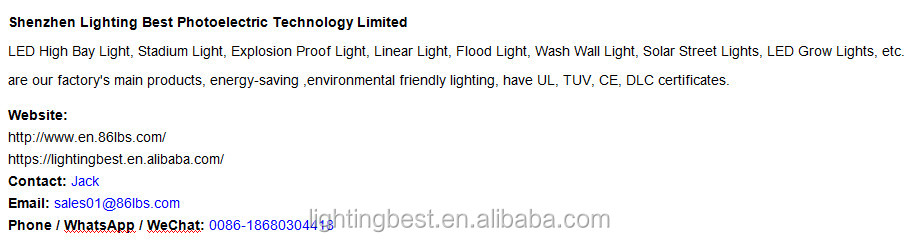 COB IP65 200W LED Linear High Bay Light
