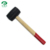 Cheap Price Wooden Handle Black Rubber Mallet Hammer