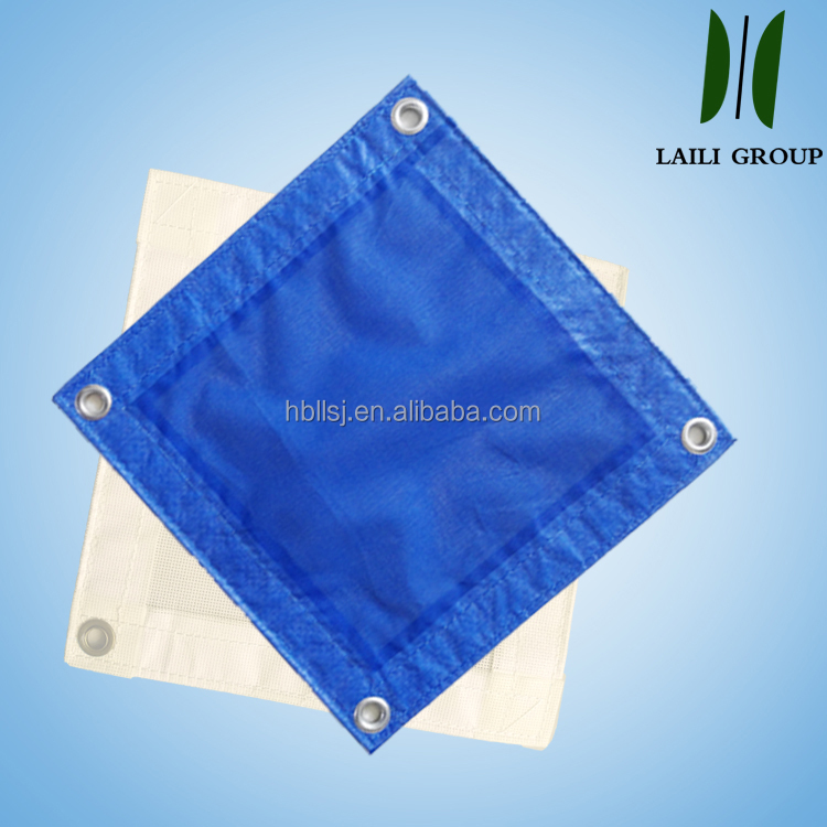 low shirinkage polyester yarn safety mesh for building protection