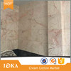 Polished Cream Cotton Pink Marble for Sale