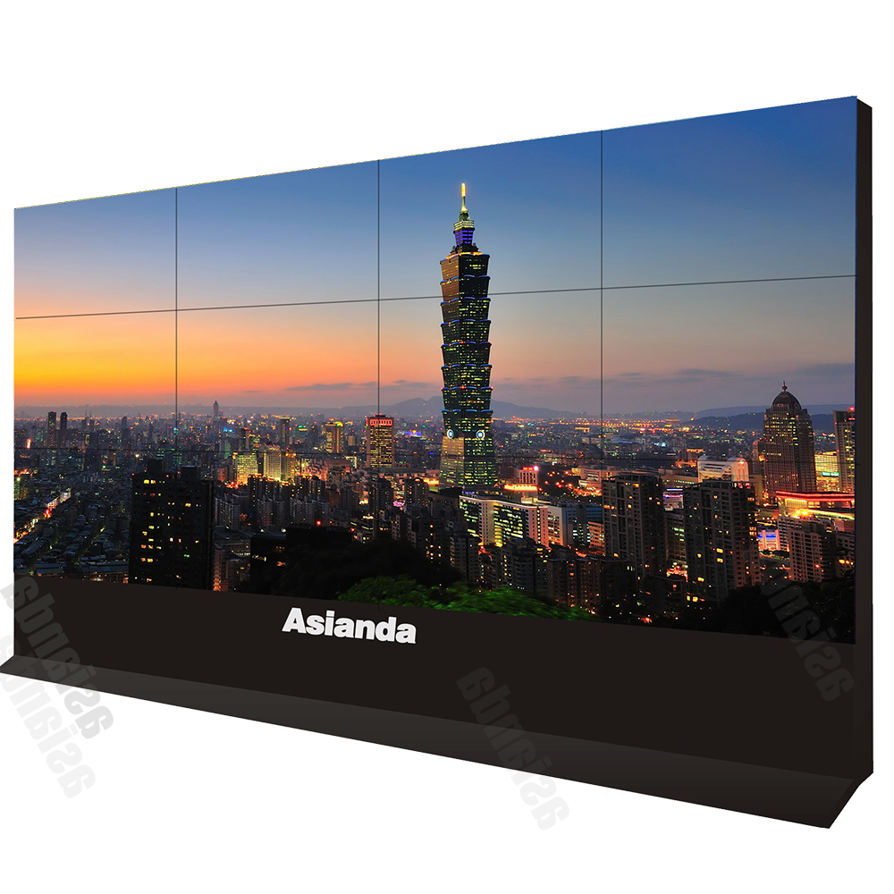 Large screen 4k full hd 46inch LCD video wall with touch screen advertising tv