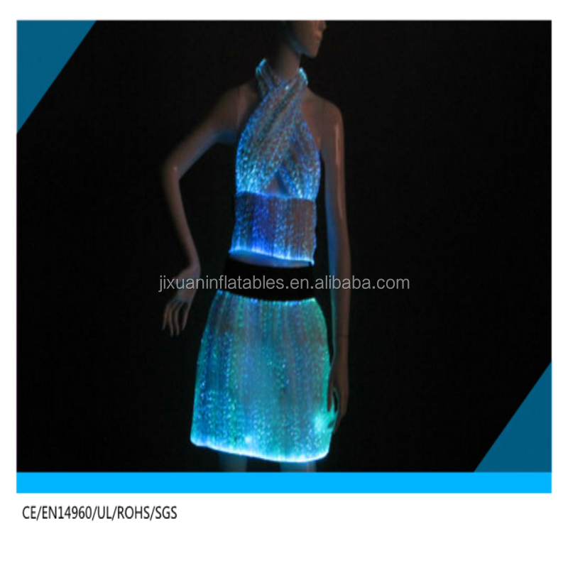e9bb0a267fc Nouveau Design Pas Cher Prix Couleur LED   Fiber Optique Lumière Costumes