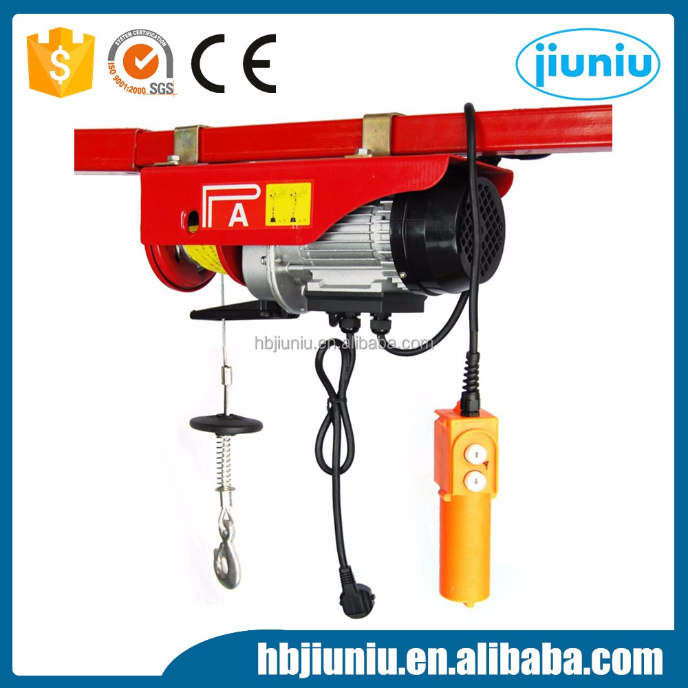 PA400 PA500 portable electric wire rope pulling lightweight electric hoist, lightweight electric hoist suppliers  at soozxer.org