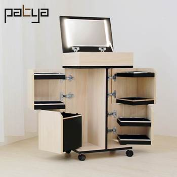 Transformable Furniture Vanity Mirror Table With Lights