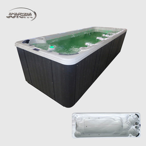 2019 Factory Luxury Top Quality Colorful 4 Meter Swimming Pool Spa Whirlpool