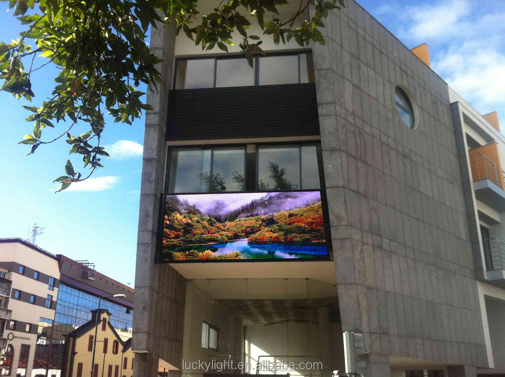 P10 outdoor video board advertising led display screen