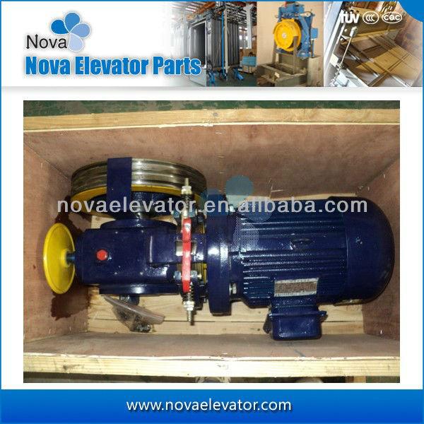 Ascensore geared trazione a magnete permanente del motore della macchina per ascensore