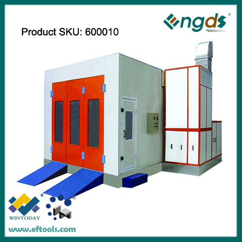 Luxury electrical heating autobody spray booth for sale