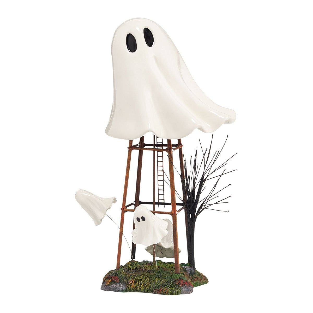 Department 56 Halloween Accessories Village Haunted Water Tower Accessory, 10.83-Inch