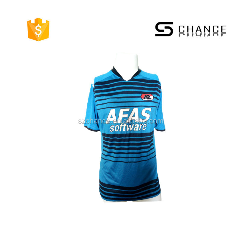 Concise design new design custom soccer jersey