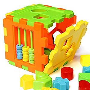 Baby Children Matching Sorting Building Blocks Box Intelligence Toy // niños del bebé a juego de clasificación bloques de construcción caja de juguetes de inteligencia