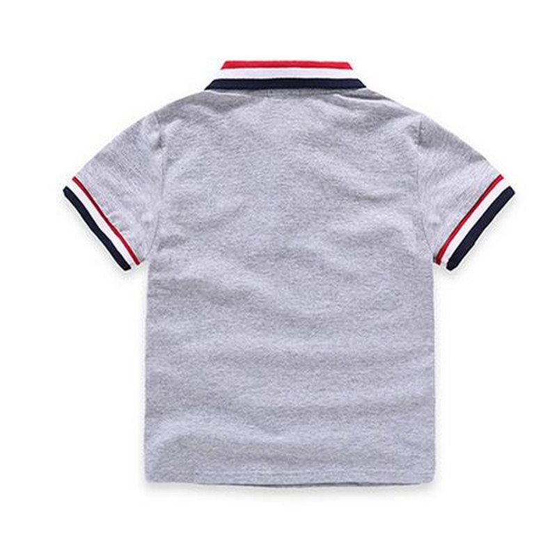 Baby Boys Polo Shirt children's Clothing Summer Clothes Baby Kids Child Brand Short Polo Shirt High Quality