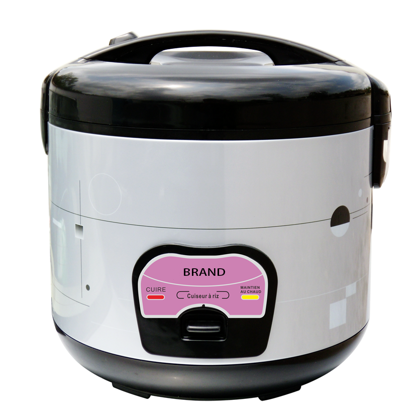 Non Stick Coating/Stainless Steel Inner Pot Mini Deluxe Electric Rice Cooker 2.8L