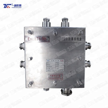 Ex e EEx e Junction Box Explosion Proof Increased Safety Junction Box Explosion Proof Junction Box with Terminal for Industry