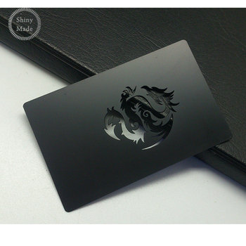China product black metal business cards wholesale