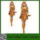 Cat Girl With Tails Charming Little Fox Animal Clothes Halloween Cosplay