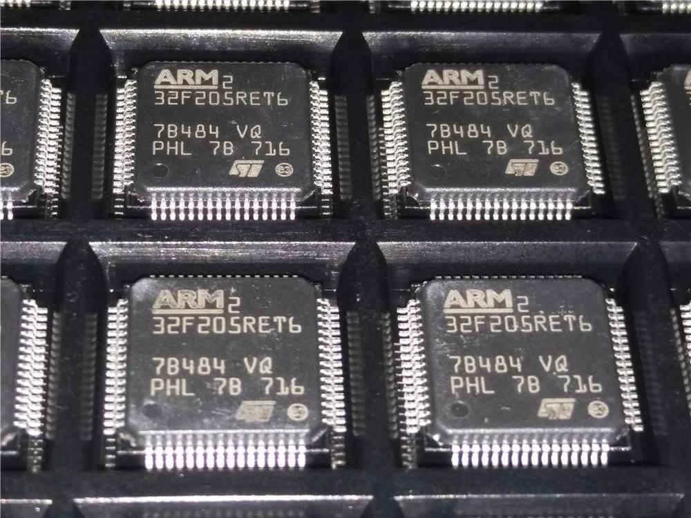 Stm32f205ret6 Stm32f205 32f205ret6 Stm32 F2 Microcontroller Ic 32-bit  120mhz 512kb (512k X 8) Flash 64-lqfp (10x10) - Buy