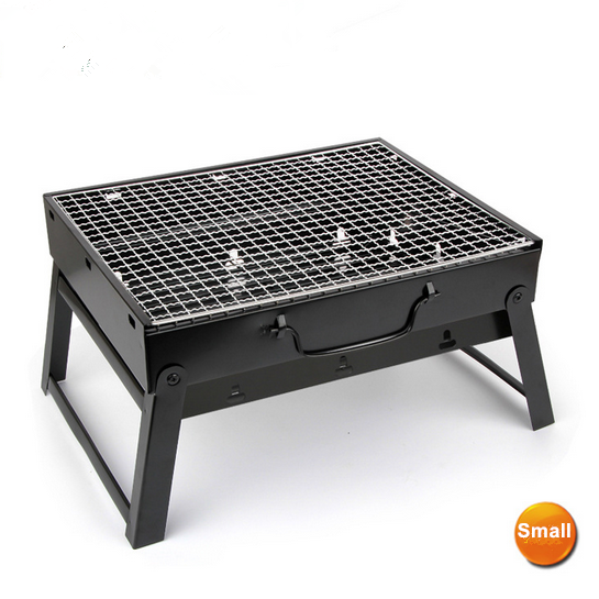 Small charcoal barbecue grills Thickened Outdoor BBQ Grills Machine