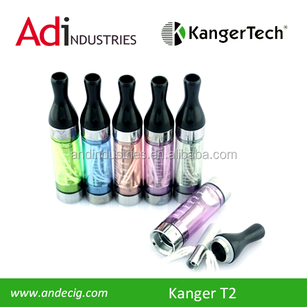 2013 China wholesale electronic cigarete clearomizer t2 atomizer/ego clearomizer latest electronic technology