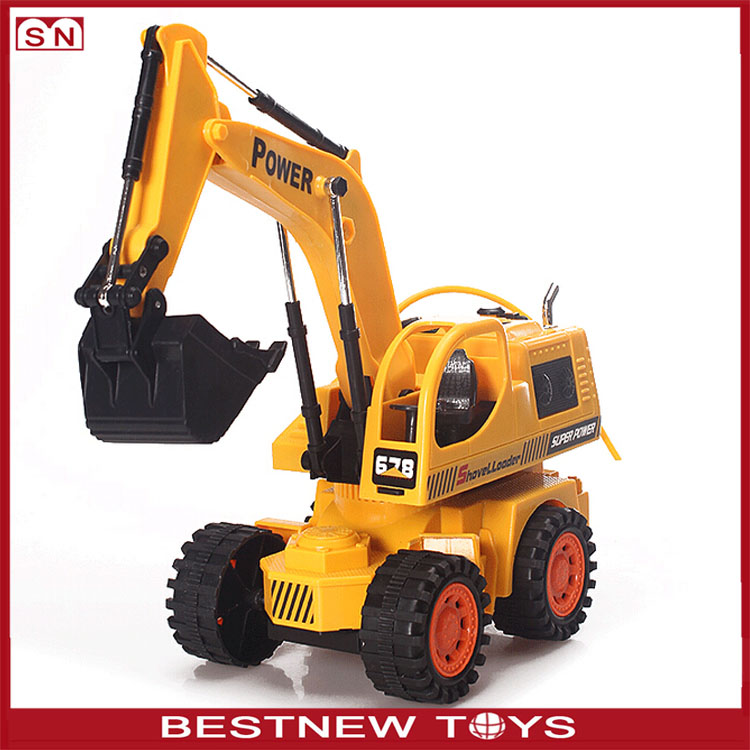 Holystone RC Construction Toy Trucks 8 channel Remote Control Excavator toys for kid