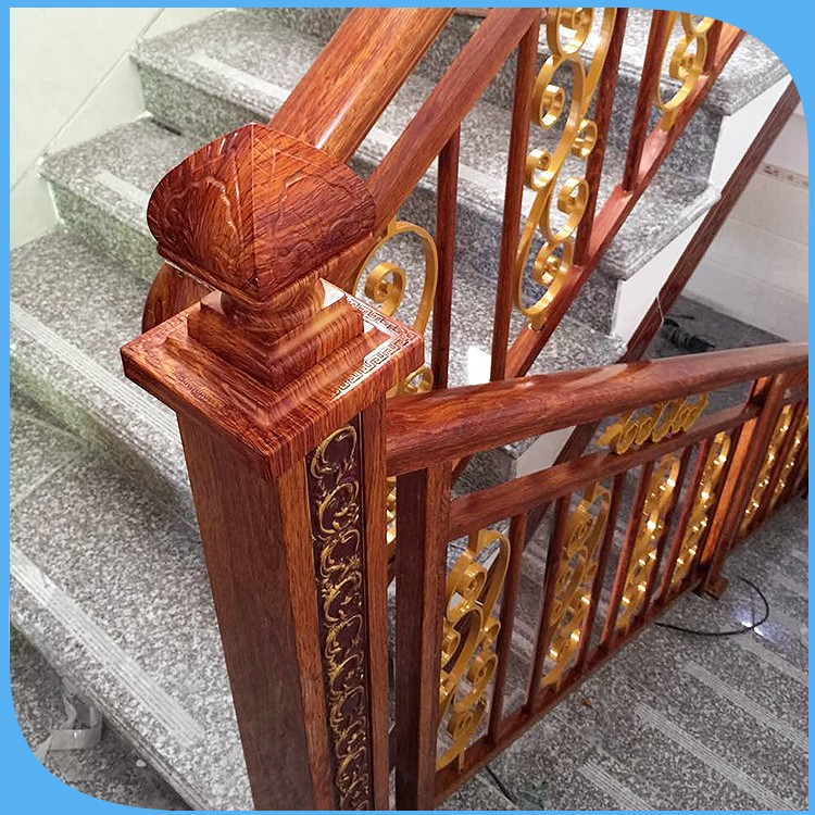 Fancy Wooden Stair Railing, Fancy Wooden Stair Railing Suppliers And  Manufacturers At Alibaba.com