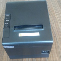 Compact and feature-rich 80mm mini barcode printer FK-POS80BS