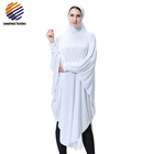 Muslim Kaftan Dress Women Scarf And Hijab Abaya With Stone