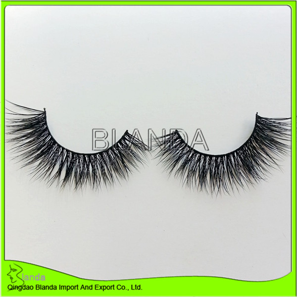Mink Faux Eyelashes USA Bulk Eyelashes Fake Lashes 3D Fauk Mink 100% Faux Eyelashes